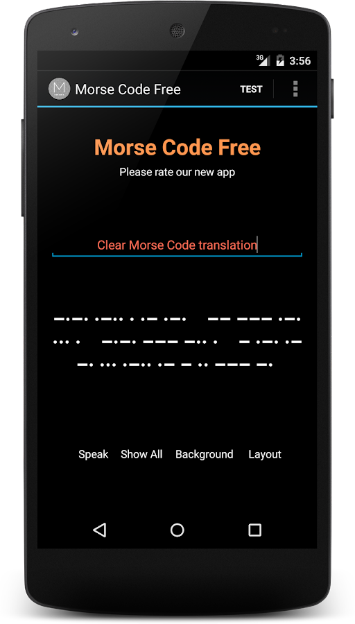 Morse Code Translator - Android Apps on Google Play