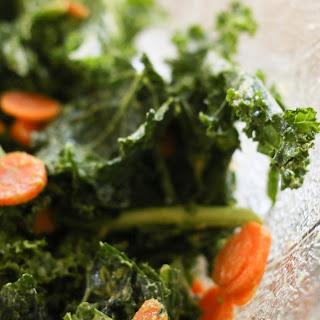 3 Ingredient Massaged Kale, Avocado Salad