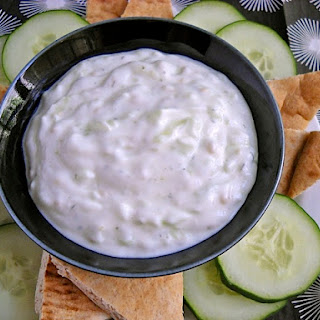 Tzatziki (greek Yogurt Sauce).