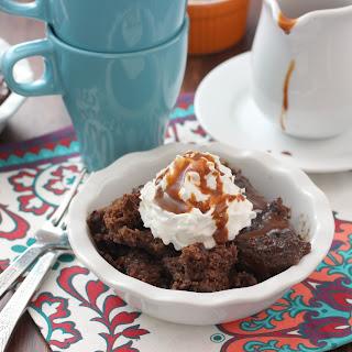 Slow Cooker Chocolate Caramel Pudding Cake.