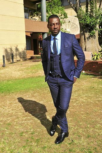 Lesley Musina is always a picture of sophistication./ Veli Nhlapo