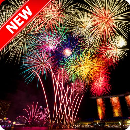 Amazing Fireworks Wallpaper 娛樂 App LOGO-硬是要APP