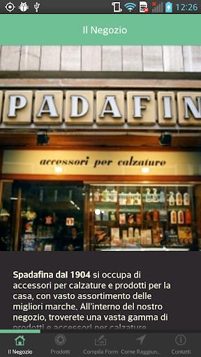 Spadafina dal 1904