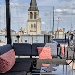 rooftop at Hotel Montana in Paris, Paris - Ile-de-France, France