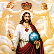 Jesus Pictures and Bible Verses for peaceful life APK icon