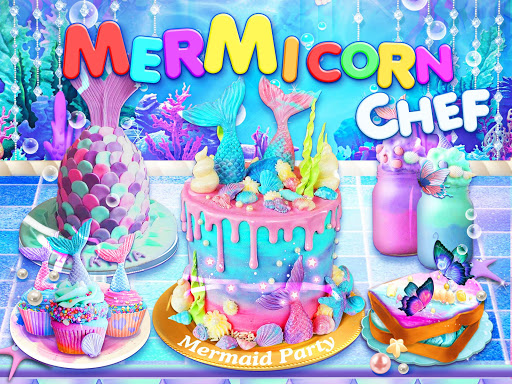 Unicorn Chef: Mermaid Cooking Games for Girls 2.1 screenshots 13