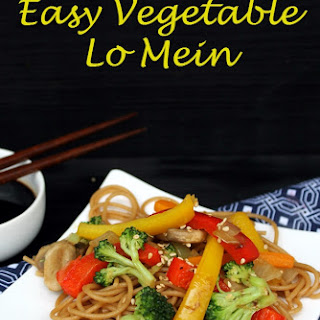 Healthy Vegetable Lo Mein