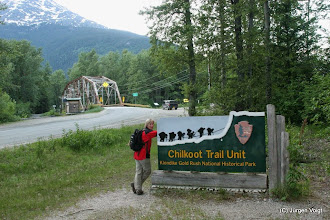 Photo: Skagway. Dyea Trailhead Chilkoot Trail