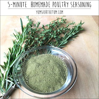 Homemade Poultry Seasoning Mix Recipes