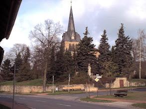 Photo: 2003 - Die St.Petri Kirche gesehen von der Haupstraße
