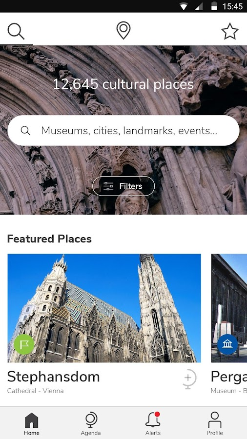 Cultural Places – Screenshot
