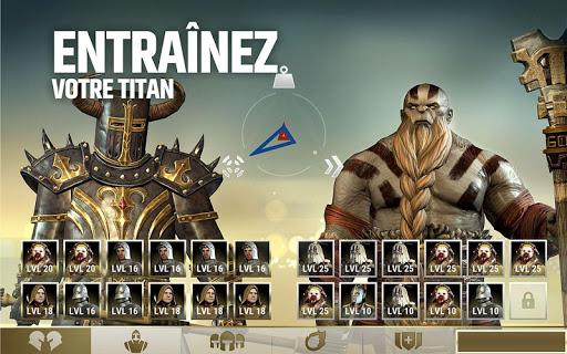Dawn of Titans - Un jeu de guerre u00e9poustouflant  captures d'u00e9cran 2
