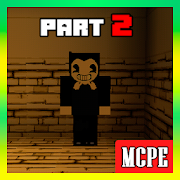 Map Bendy and the Horror Machine - 2 for MCPE