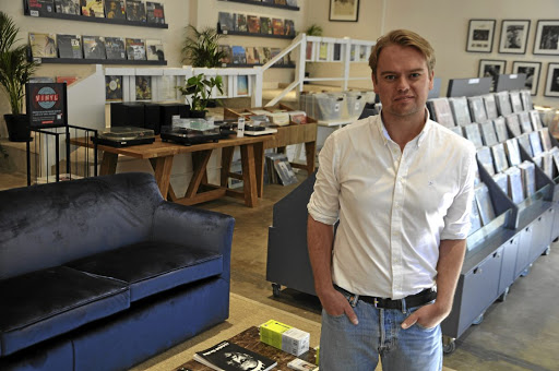 Bret Dugmore, owner of Mr Vinyl, has plugged the gap for old school music lovers.