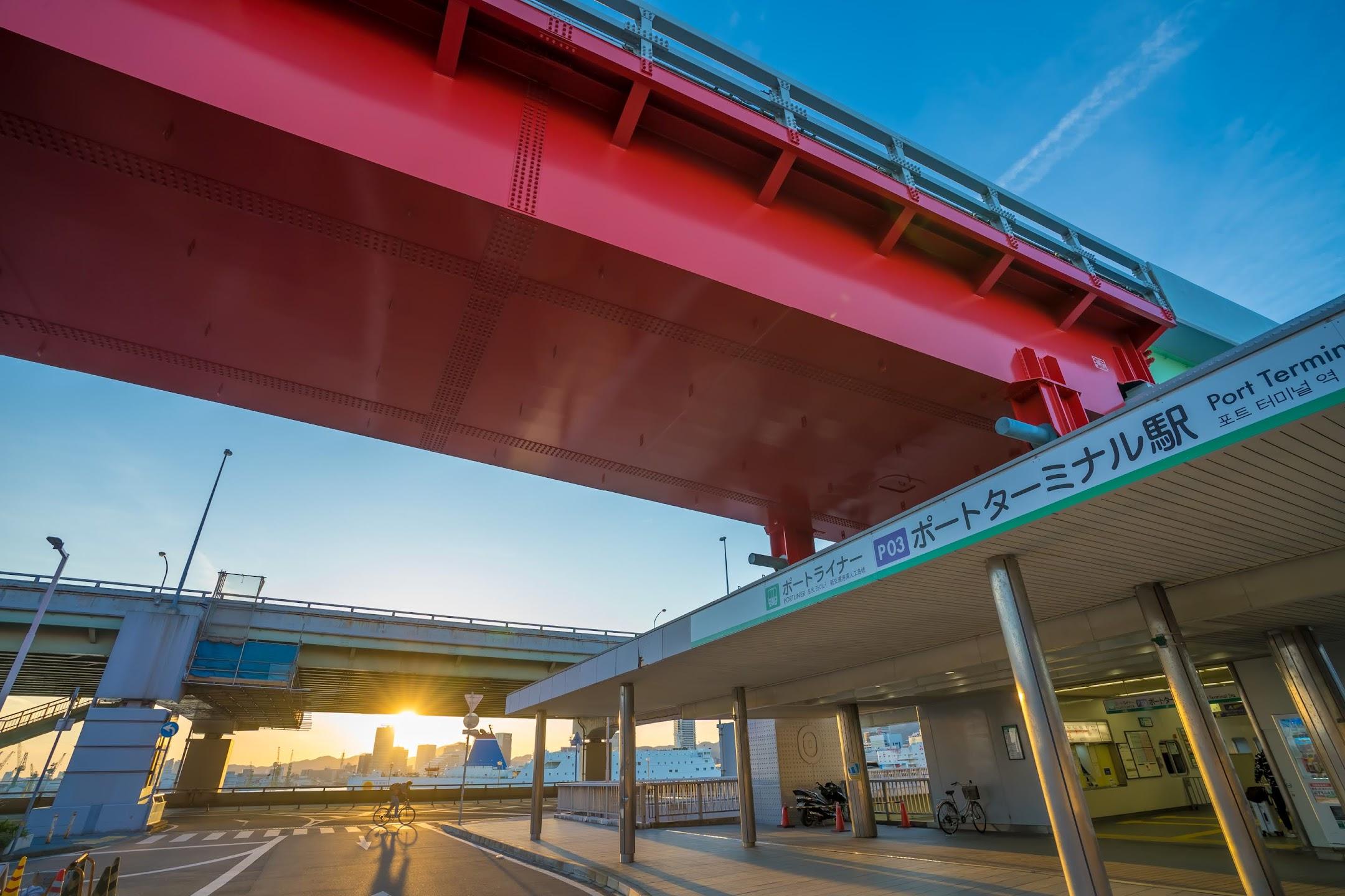神戸 ポートターミナル駅