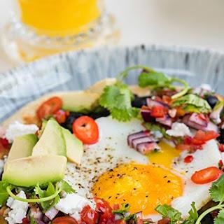 Huevos Rancheros - Spicy Mexican Eggs
