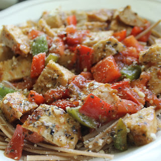 Tomato Basil Chik' N Cutlets