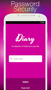 Diary with lock- screenshot thumbnail