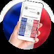 France Flag Keyboard - Elegant Themes APK