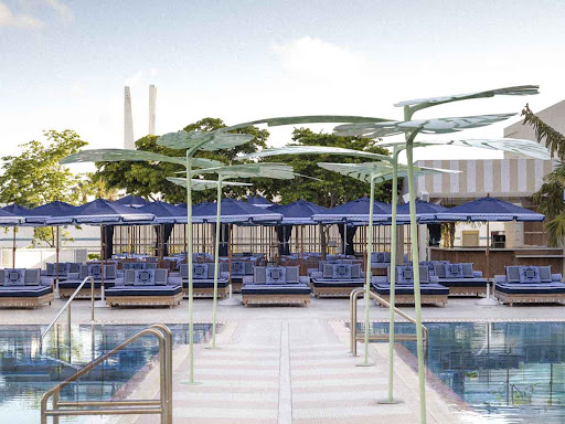 Inside The New Burberry Takeover At Miami Beach's The Goodtime Hotel