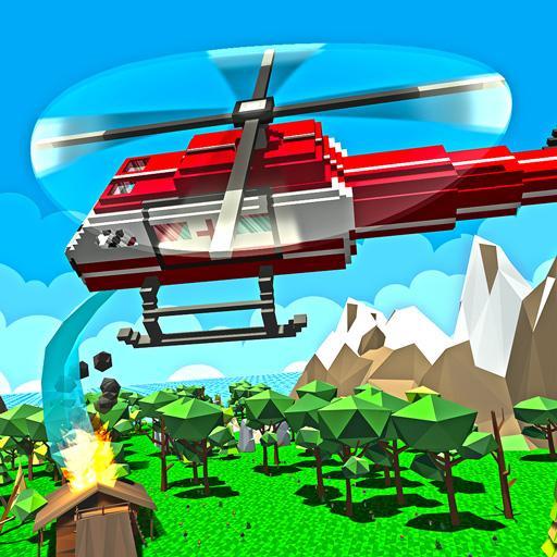 Forest Build & Rescue Simulator: Building & Craft