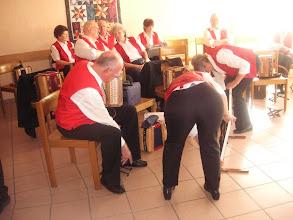 Photo: Die  ersten Vorbereitungen laufen