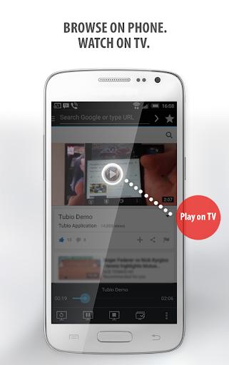 Tubio - Cast Web Videos to TV, Chromecast, Airplay 2.26 Screenshots 2