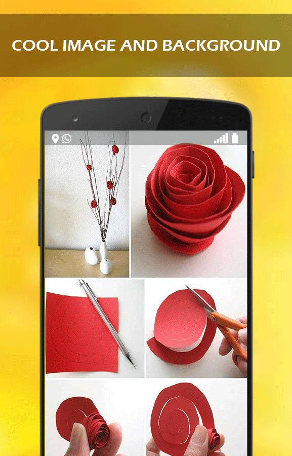 Screenshots of DIY Easy Paper Flowers for iPhone