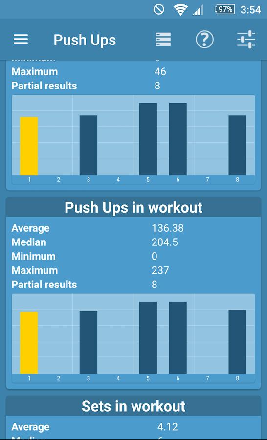 Push Ups Coach - advanced training generator
