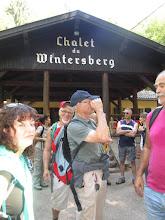 Photo: col de la Liese, chalet du Club vosgien Niederbronn