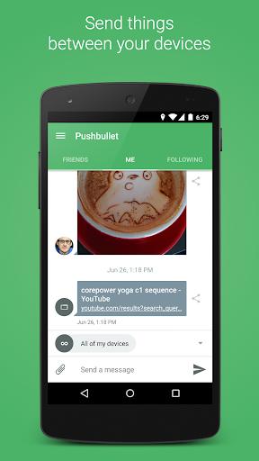 Pushbullet – SMS on PC v17.7.2 [Color Mod]