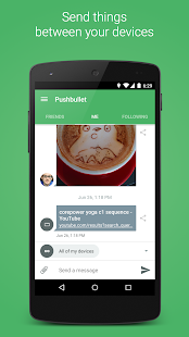 Pushbullet- screenshot thumbnail