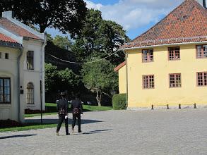 Photo: Castle guards