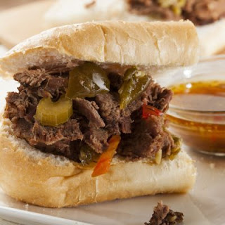 6-Ingredient Slow-Cooked Italian Beef