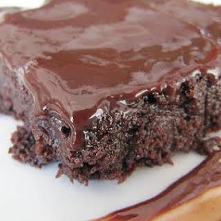 Chocolate and Szechuan Peppercorn Brownies.