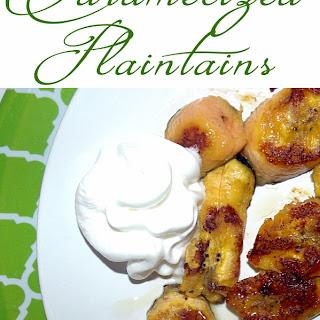 Caramelized Brown Sugar Plaintains