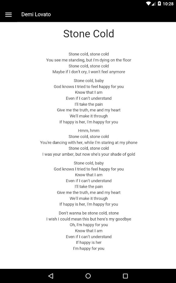 Lyric demi lovato lyrics : Demi Lovato Lyrics - Android Apps on Google Play
