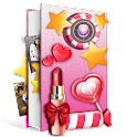 Sweet Girly Pic Collage Editor icon