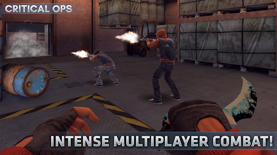 Critical Ops (Mod, Unlimited Bullets) 8