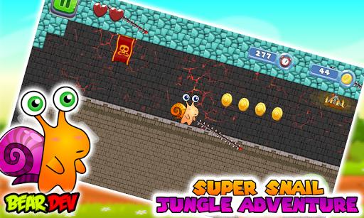 Super Snail Jungle Adventure 2.1 screenshots 6