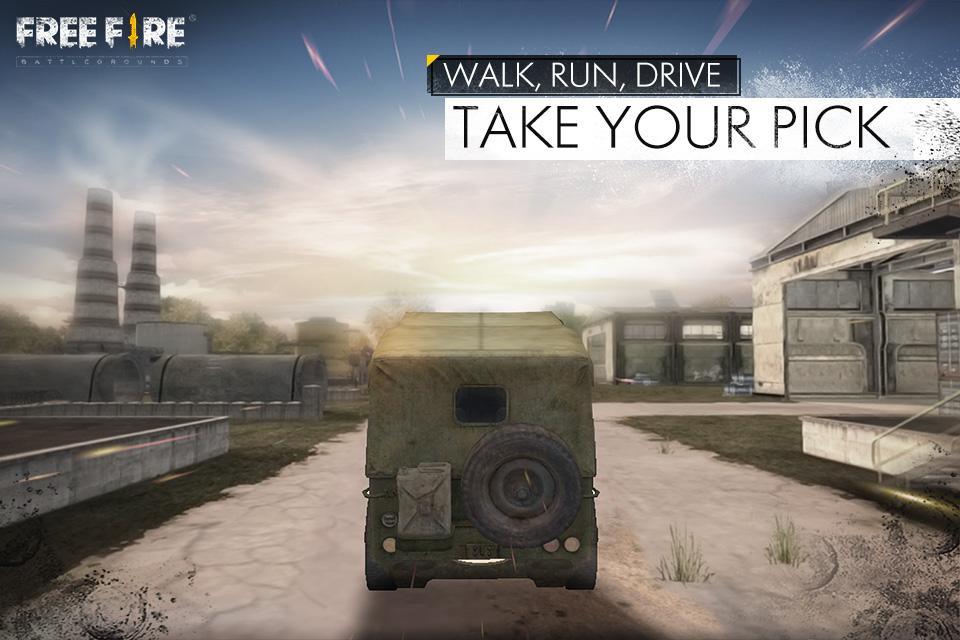 Screenshots of Free Fire - Battlegrounds for iPhone