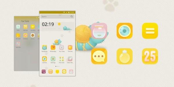 Lazy Cat Theme screenshot 0