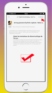 App Don't Touch My Phone-wrong password photo captur APK for Windows Phone