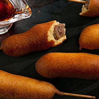 Breakfast Corn Dogs