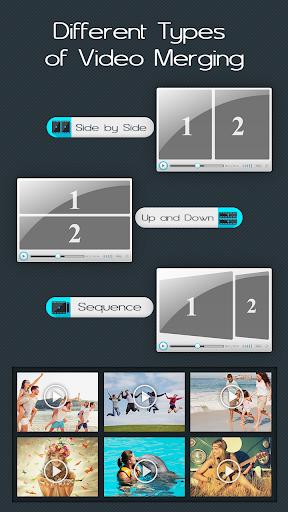 Video Merge : Easy Video Merger & Video Joiner 1.7 screenshots 1