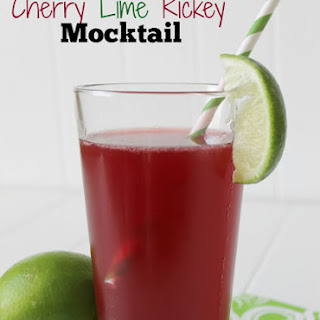 Cherry Lime Rickey Mocktail