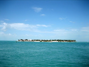Photo: One of the islands across from the sunset dock at Key West