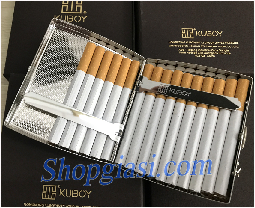 hộp đựng thuốc lá 20 điếu, hộp đựng thuốc kuboy, quà tặng sếp, quà tặng bố, quà tặng bạn trai, quà tặng nam