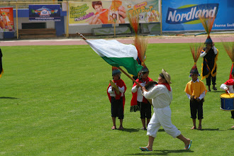 Photo: His outfit says Santa Cruz, but that's the Pando flag