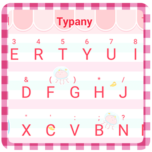 Pink Day Theme&Emoji Keyboard